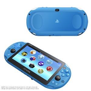 【P最大15倍】PlayStation(R)Vita Wi-Fiモデル アクア・ブルー【お一人様一台限り】 【税込】 ソニー・コンピュータエンタテインメント [PCH-2000ZA23]【返品種別B】【送料無料】【RCP】
