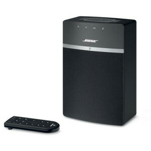 SOUNDTOUCH10BLK【税込】 ボーズ Wi-Fi/Bluetooth対応ワイヤレススピーカー(ブラック) BOSE SoundTouch 10 Series wireless music system [SOUNDTOUCH10BLK]【返品種別A】【送料無料】【1201_flash】