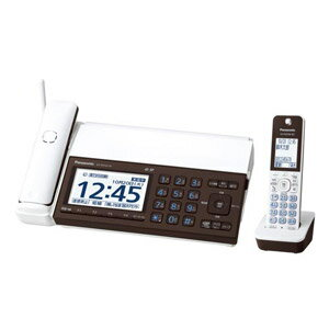 KX-PD102DL-W【税込】 パナソニック デジタルコードレス普通紙FAX(子機1台付き)ピアノホワイト Panasonic おたっくす [KXPD102DLW]【返品種別A】【送料無料】【RCP】