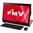 FMVW77WB【税込】 富士通 デスクトップパソコン FMV ESPRIMO WH77/W シャイニーブラック(Office Home&Business Premium) [FMVW77WB]【返品種別A】【RCP】【送料無料】