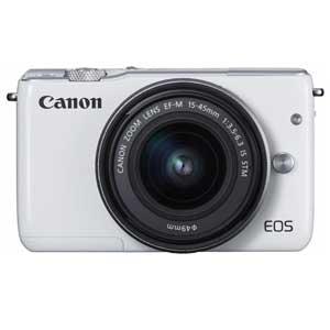 EOSM10WH-1545ISSTMLK【税込】 キヤノン ミラーレスカメラ「EOS M10」EF-M15-45 IS STMレンズキット(ホワイト) Canon EOSM10 [EOSM10WH1545ISSTMLK]【返品種別A】【送料無料】【1201_flash】