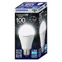 LDAS100N-H【税込】 ドウシシャ LED電球 一般電球形 1558lm(昼白色相当) DOSHISHA Luminous(ルミナス) [LDAS100NH]【返品種別A】【RCP】