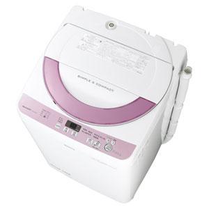 ES-G55RC-P【税込】 シャープ 5.5kg 全自動洗濯機 ピンク系 SHARP 穴なし槽 ES-GE55RのJoshinオリジナルモデル [ESG55RCP]【返品種別A】【oogata1129】【送料無料】【RCP】