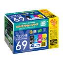 ECI-E69V-4P【税込】 エコリカ エプソン対応のリサイクルインク(4色パック) [ECIE69V4P]【返品種別A】【RCP】