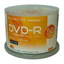 HDVDR47JNP50【税込】 HI-DISC データ用DVD-R 16倍速対応 50枚パック4.7GB ホワイトプリンタブル ハイディスク [HDVDR47JNP50]【返品種...