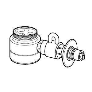 CB-SEF8【税込】 パナソニック 食器洗い乾燥機用分岐栓 Panasonic [CBSEF8]【返品種別A】【送料無料】【RCP】
