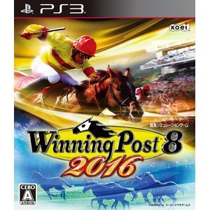 【PS3】Winning Post 8 2016 【税込】 コーエーテクモゲームス [BLJM-61328ウイニングポスト]【返品種別B】【送料無料】【RCP】