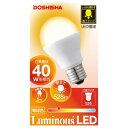 LDAT40L-H【税込】 ドウシシャ LED電球 一般電球形 528lm(電球色相当) DOSHISHA  Luminous(ルミナス) [LDAT40LH]【返品種別A】【RCP】