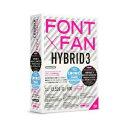 FONT×FAN HYBRID 3 乗り換え/特別限定版 フォント・アライアンス・ネットワーク 【返品種別B】【送料無料】