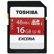 SD-FU016G【税込】 東芝 SDHCメモリカード 16GB Class10 UHS-I EXCERIA SD-FUシリーズ [SDFU016G]【返品種別A】【RCP】