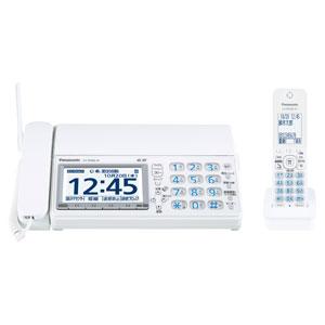 KX-PD600DL-W【税込】 パナソニック デジタルコードレス普通紙FAX(子機1台付き) ホワイト Panasonic おたっくす [KXPD600DLW]【返品種別A】【送料無料】【RCP】