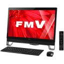 FMVF77XDB【税込】 富士通 23型デスクトップパソコンESPRIMO FH77/XD オーシャンブラック (Office Home&Business P...