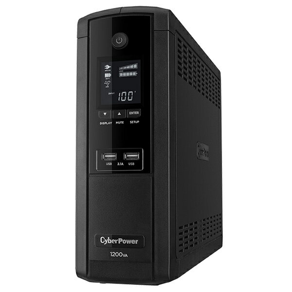 CPJ1200【税込】 CyberPower 無停電電源装置(UPS)1200VA/720W Backup CR CPJ1200 [CPJ1200]【返品種別A】【送料無料】【RCP】