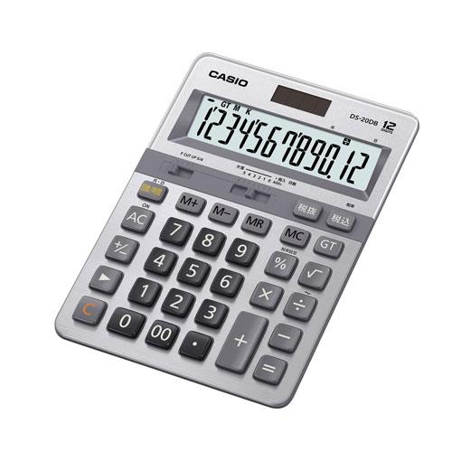 DS-20DB-N カシオ 本格実務電卓 12桁