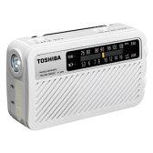 TY-JKR5-W【税込】 東芝 手回し充電ワイドFMラジオ(ホワイト) TOSHIBA [TYJKR5W]【返品種別A】【送料無料】【RCP】