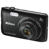 A300BK【税込】 ニコン デジタルカメラ「A300」(ブラック) ニコン COOLPIX A300 [A300BK]【返品種別A】【送料無料】【RCP】