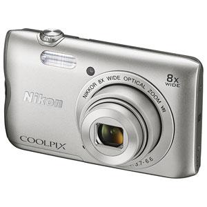 A300SL【税込】 ニコン デジタルカメラ「A300」(シルバー) ニコン COOLPIX A300 [A300SL]【返品種別A】【送料無料】【RCP】