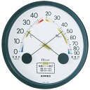 TM-2332 エンペックス エスパス温・湿度計(ブラック) EMPEX