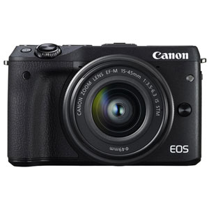 EOSM3BK-1545ISSTMLK【税込】 キヤノン ミラーレスカメラ「EOS M3」EF-M15-45 IS STM レンズキット(ブラック) Canon EOS M3 [EOSM3BK1545ISSTMLK]【返品種別A】【送料無料】【1201_flash】
