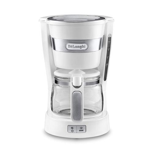 ICM14011J-W【税込】 デロンギ コーヒーメーカー ホワイト DeLonghi [ICM14011JW]【返品種別A】【送料無料】【RCP】