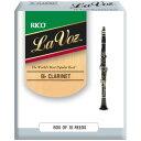 LRICLVCLH ダダリオウッドウインズ B♭クラリネットリード(ラ ヴォーズ・ハード)10枚入り D'Addario WOODWINDS RICO LA VOZ