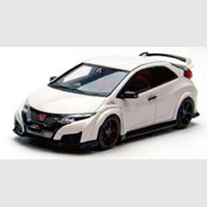 1/43 Honda CIVIC TYPE R 2015 (Japanese License Plate) Championship White【45366】 EBBRO [エブロ 45366 ホンダ シビック TYPE R 2015 ホワイト]【返品種別B】