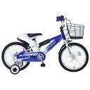 MD-10 マイパラス 子ども用自転車 16インチ(ブルー) MYPALLAS [MD10ブル]【返品種別B】