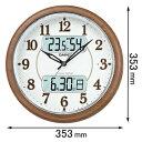 ITM-900FLJ-5JF【税込】 カシオ 電波掛時計 [ITM900FLJ5JF]【返品種別A】【送料無料】【RCP】