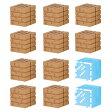 マインクラフトケシゴム ブロックセット オークの木材とガラスブロック 【税込】 バンダイ [ブロックセットオークノモクザイトガ]【返品種別B】【RCP】