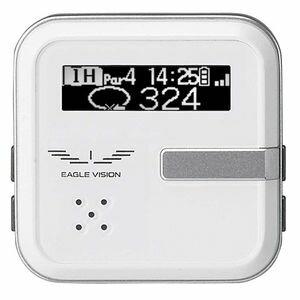 EV-302【税込】 朝日ゴルフ GPSゴルフナビ 距離計測器 イーグルビジョン ボイス2(ホワイト) EAGLE VISION voice2 [EV302]【返品種別A】【送料無料】【RCP】