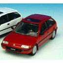 1/43 ホンダシビック 1987 レッド【F43-042】 【税込】 First43 [First43 F43-042 ホンダシビック1987 レッド]【返品...