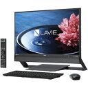 PC-DA770EAB【税込】 NEC 23.8型デスクトップパソコンLAVIE Desk All-in-one DA770/EAシリーズファインブラック (O...