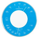 LV-4356【税込】 エンペックス セレナ・カラー温・湿度計(ブルー) EMPEX リビシリーズ [LV4356]【返品種別A】【RCP】