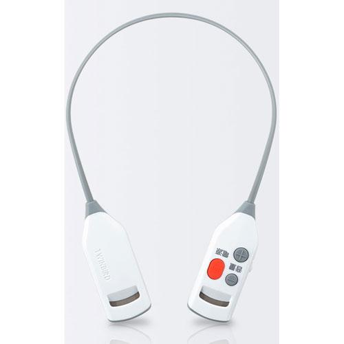 AV-J343W【税込】 ツインバード ワイヤレス耳元スピーカー TWINBIRD [AVJ343W]【返品種別A】【送料無料】【RCP】