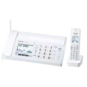 KX-PZ200DL-W【税込】 パナソニック デジタルコードレス普通紙FAX(子機1台付き) ホワイト Panasonic おたっくす [KXPZ200DLW]【返品種別A】【送料無料】【RCP】