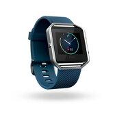 FB502SBUS-JPN【税込】 フィットビット ウェアラブル活動量計・睡眠計・心拍計(ブルー/Sサイズ) Fitbit Blaze [FB502SBUSJPN]【返品種別A】【送料無料】【RCP】
