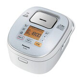 SR-HX106-W【税込】 パナソニック IHジャー炊飯器(5.5合炊き) スノーホワイト Panasonic [SRHX106W]【返品種別A】【送料無料】【RCP】
