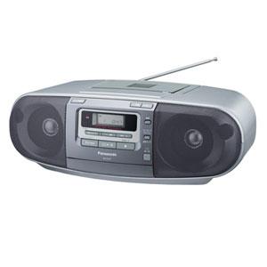 RX-D47-S【税込】 パナソニック ワイドFM対応CDラジカセ(シルバー) Panasonic [RXD47S]【返品種別A】【送料無料】【RCP】