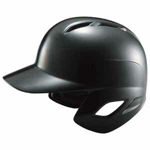 Z-BHL370-1900-L ゼット 軟式打者用ヘルメット(ブラック L) ZETT 野球ヘルメット