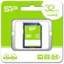SP-SDHC32GB4 シリコンパワー SDHCメモリカード 32GB Class4