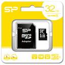 SP-MCSDHC32GB4 シリコンパワー microSDHCメモリカード 32GB Class4 [SPMCSDHC32GB4]【返品種別A】