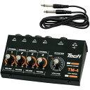TM-4【税込】 テック 4chマイクロ・ミキサー TECH [TM4]【返品種別A】【RCP】