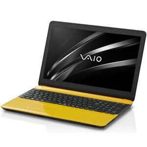 VJC15190411Y VAIO 15.5型ノートパソコン VAIO C15イエロー/ブラック (Office Home&Business Premium)