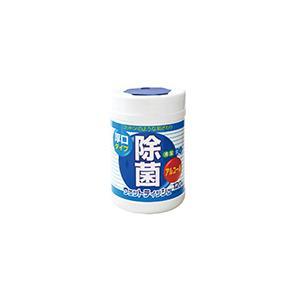 除菌ウェットティッシュ ボトルタイプ 厚口 120枚 ライフ堂 アツクチボトルウエツトテイツシユ120