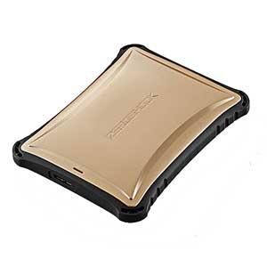 ELP-ZS010UGD【税込】 エレコム USB3.0対応 ポータブルハードディスク 1.0TB(ゴールド) ZEROSHOCK ELP-ZSUシリーズ [ELPZS010UGD]【返品種別A】【送料無料】【RCP】