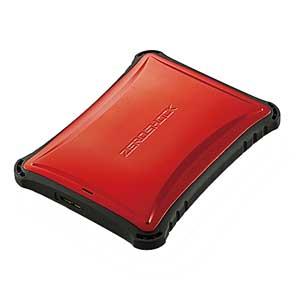ELP-ZS010URD【税込】 エレコム USB3.0対応 ポータブルハードディスク 1.0TB(レッド) ZEROSHOCK ELP-ZSUシリーズ [ELPZS010URD]【返品種別A】【送料無料】【RCP】