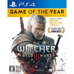 【PS4】ウィッチャー3 ワイルドハント ゲームオブザイヤーエディション スパイク・チュンソフト [PLJS74015 PS4ウィッチャー3]【返品種別B】