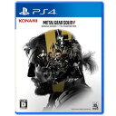 【PS4】METAL GEAR SOLID V: GROUND ZEROES + THE PHANTOM PAIN コナミデジタルエンタテインメント [VF020-J1 PS4 MGSV]【返品種別B】