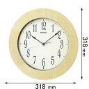 KX219A セイコークロック 電波掛け時計 [KX219A]【返品種別A】