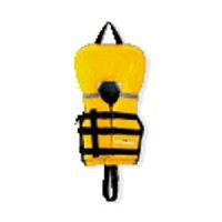 MC-2554 キャプテンスタッグ シーサイドフローティングエイド 幼児用(イエロー・推奨身長:85〜95cm) ライフジャケットの画像